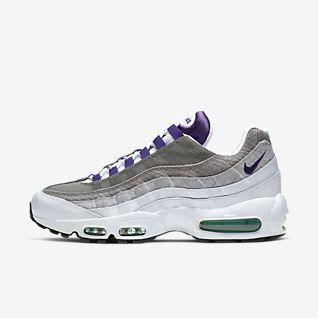 Nike Air Max 95 Essential shoes blue purple yellow