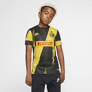 Inter Milan Camiseta de fútbol de manga corta para niños talla grande