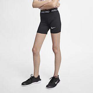 Nike Pro Boyshorts til store barn (jente)