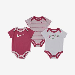 Nike Baby (0–9M) JDI Bodysuit Set (3-Pack)