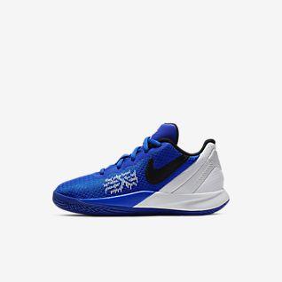 Blue Kyrie Irving Shoes. Nike.com