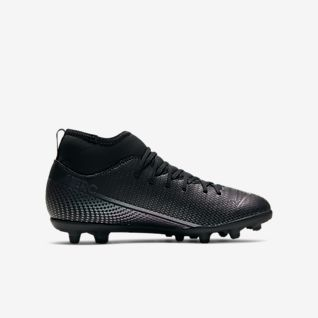 all black nike football boots