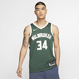 Giannis Antetokounmpo Bucks Icon Edition Maillot NBA Swingman pour Homme