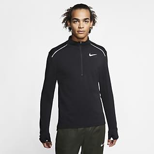 Nike Therma Element 3.0 男子半长拉链开襟跑步上衣