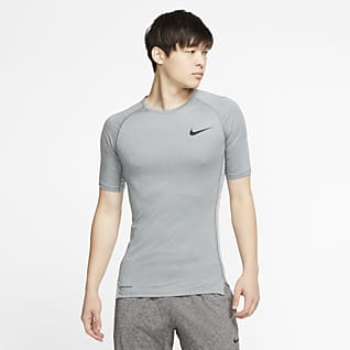 Nike Pro Kortärmad tröja med tajt passform för män