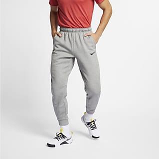 Nike Therma Träningsbyxor i avsmalnande modell för män