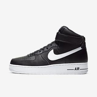 Heren Zwart Air Force 1 Schoenen. Nike NL