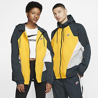 Nike Sportswear Heritage Windrunner Dokuma Ceket