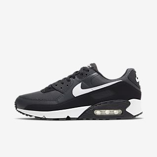 Nike Air Max 90 Mænds Sko Sort Grøn :