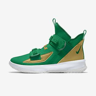 Green LeBron James Shoes. Nike ZA