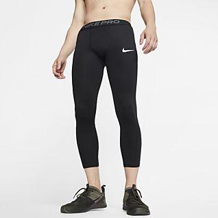 Nike Pro กางเกงรัดรูป 3/4 ส่วนผู้ชาย
