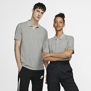 Nike Polo Dar Kesimli Unisex Polo Üst