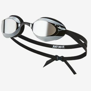 Nike Vapor Óculos de natação espelhados