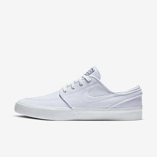 Hombre Blanco Stefan Janoski Zapatillas. Nike ES