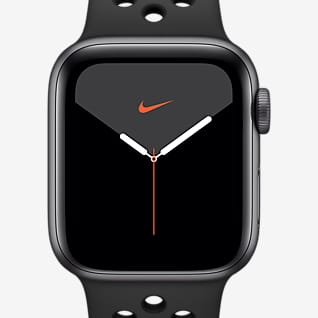 Apple Watch Nike Series 5(GPS + 蜂窝网络)搭配 Nike Sport Band 44 毫米深空灰色铝金属表壳