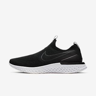 Black Nike Epic React Shoes. Nike.com