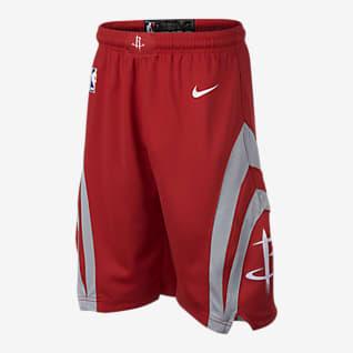 Houston Rockets Nike Icon Edition Swingman Short NBA pour Garçon plus âgé