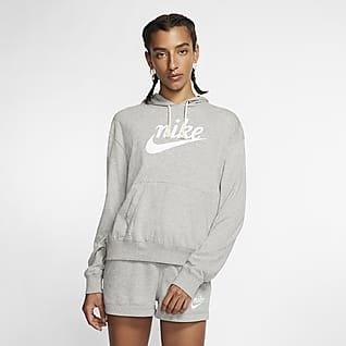 Nike Sportswear Gym Vintage Sudadera con capucha para mujer