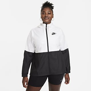 Nike Sportswear Geweven damesjack (Plus Size)