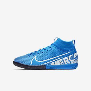 Nike Jr. Mercurial Superfly 7 Academy IC Fotbollssko för inomhusplaner/futsal för barn