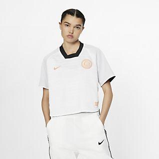 Nike F.C. Dri-FIT Haut de football à manches courtes pour Femme
