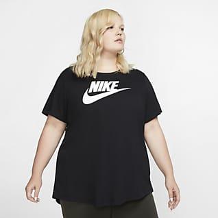 Nike Sportswear Essential Женская футболка (большие размеры)