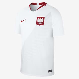 2018 Polonya Stadyum İç Saha Erkek Futbol Forması