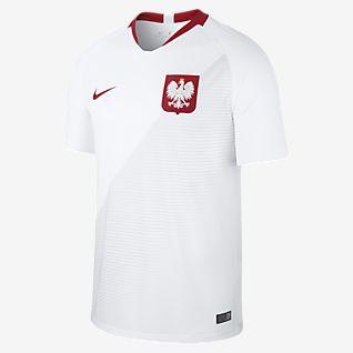 2018 Poland Stadium Home Fotbollströja för män