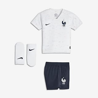 2018 FFF Stadium Away Baby Football Kit