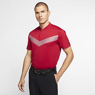 Nike Dri-FIT Tiger Woods Vapor Erkek Golf Polo Üst