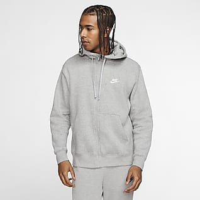 Nike Sportswear Club Fleece Ανδρική μπλούζα με κουκούλα και φερμουάρ σε όλο το μήκος