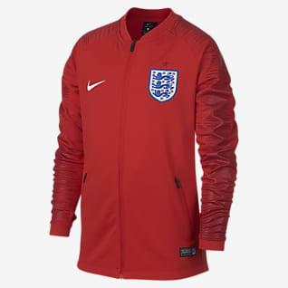 England Anthem Fußballjacke für ältere Kinder