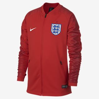 England Anthem Older Kids' Football Jacket