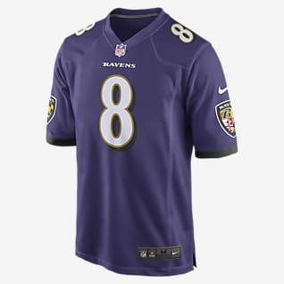 NFL Baltimore Ravens Game (Lamar Jackson) Men's Football Jersey