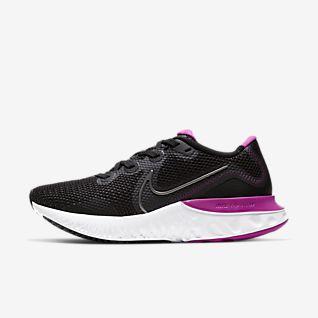 Dame(Women) Nike Lunarglide 8 Running Sko Sort Multi Farve