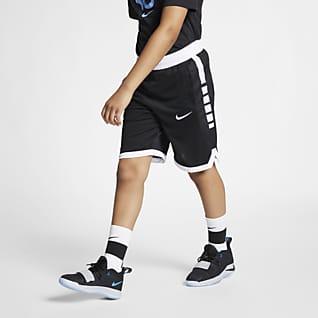 Nike Dri-FIT Elite Shorts de básquetbol para niños talla grande