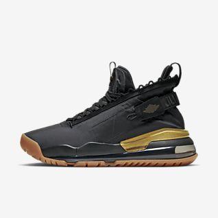 Dame Jordan Black Sko. Nike NO