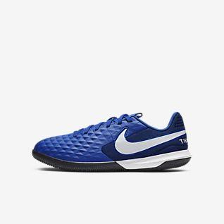 Nike Jr. Tiempo Legend 8 Academy IC Ποδοσφαιρικό παπούτσι για κλειστά γήπεδα για μικρά/μεγάλα παιδιά