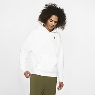 NikeCourt Sudadera con capucha de tenis de tejido Fleece - Hombre