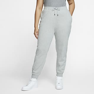 Nike Sportswear Essential Dámské flísové kalhoty (větší velikost)