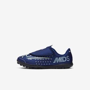 Nike Jr. Mercurial Vapor 13 Club MDS TF Sapatilhas de futebol para relva artificial para criança