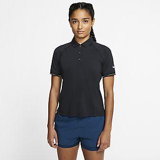 NikeCourt Polo de tenis para mujer