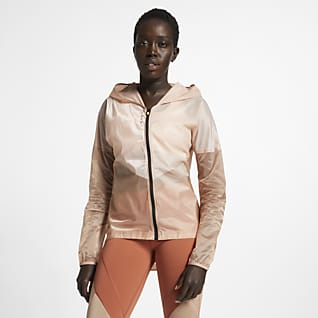 Nike Tech Pack Dámská běžecká bunda s kapucí