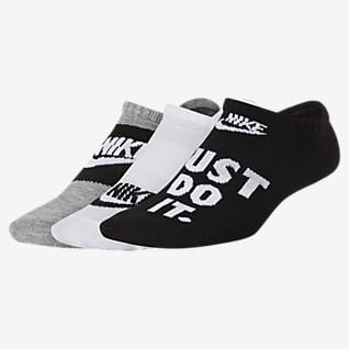 Nike Everyday Older Kids' Lightweight No-Show Socks (3 Pairs)