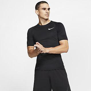 Nike Pro Ανδρική κοντομάνικη μπλούζα με στενή εφαρμογή