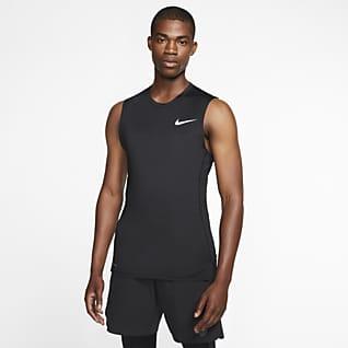 Nike Pro 男子无袖训练紧身上衣