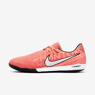pink indoor soccer shoes