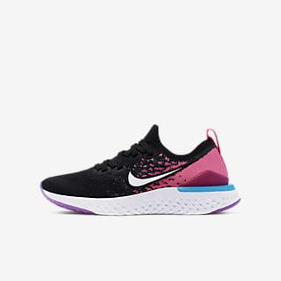 Nike Epic React Flyknit 2 Calzado de running para niños talla grande