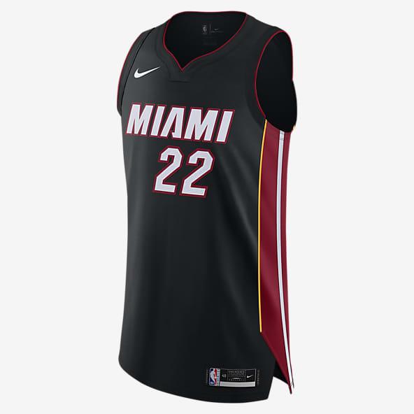 Sports Mens Basketball Jersey Jimmy Butler 22# Miami Heat Classic Sleeveless Basketball Uniform Quick Dry T-Shirt Competition Swingman Jerseys,Red,S