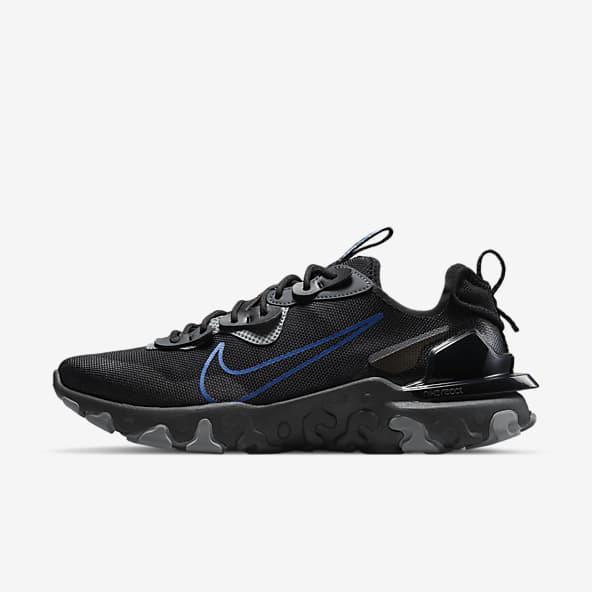 Hommes Noir Nike React Chaussures. Nike FR